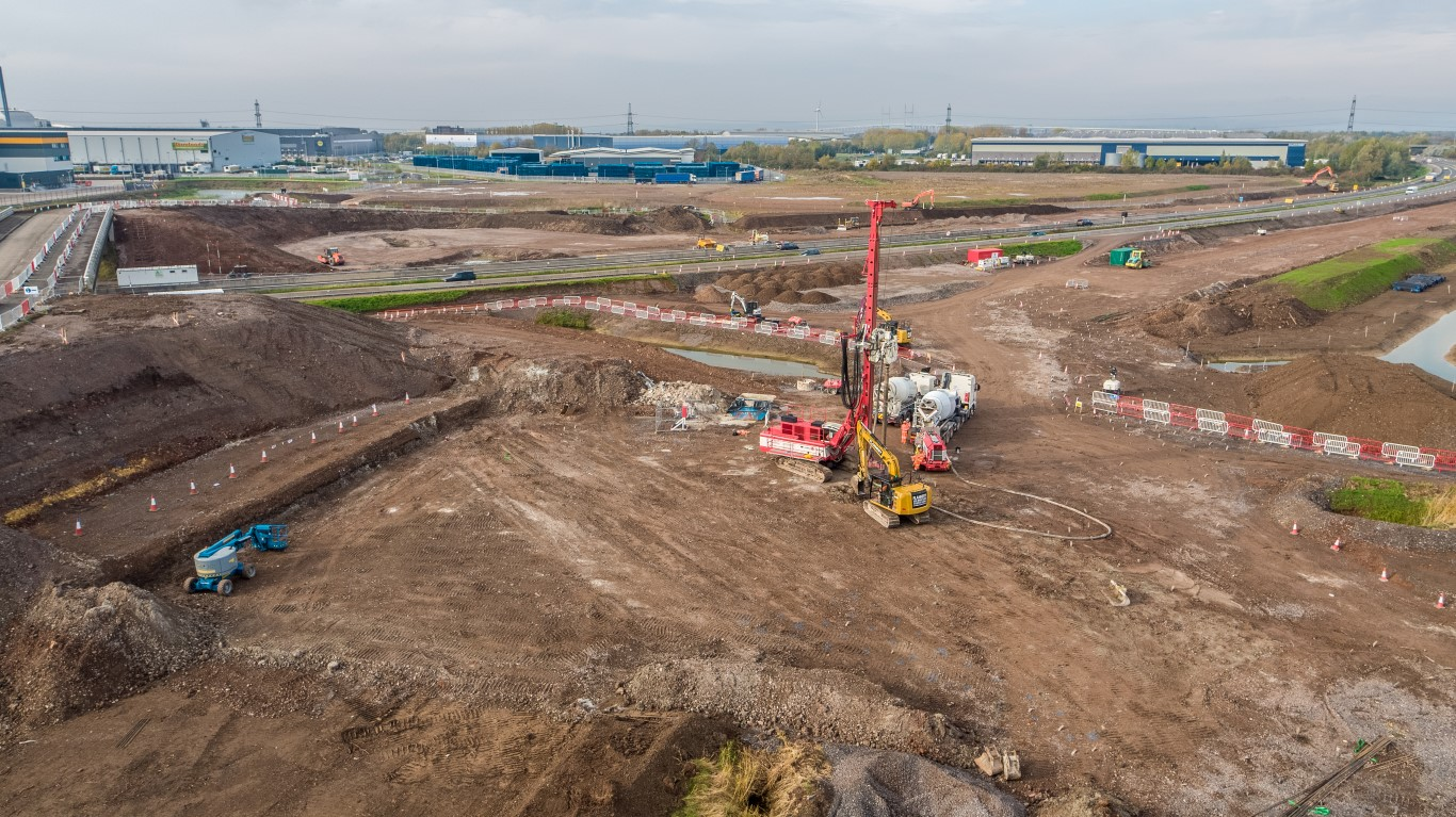 New M49 junction starts to take shape – PSBNews